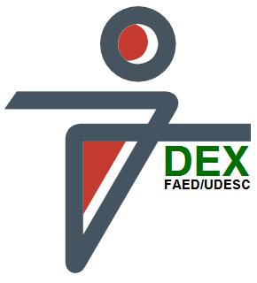 Logo da DEX - Direção de Extensão da UDESC/FAED